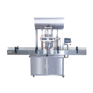 Automatic 4 head filling machine