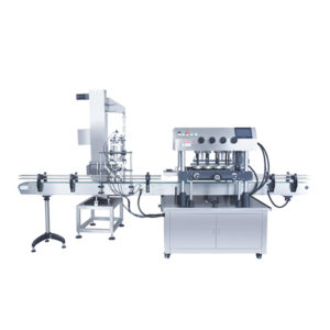 Fully automatic high speed capping machine