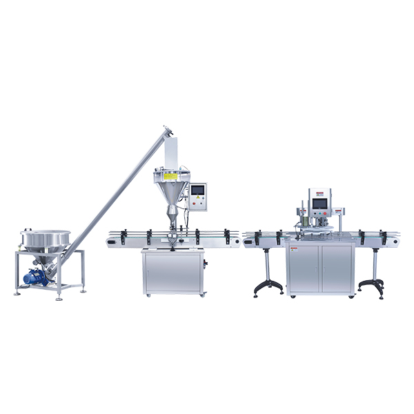 Inline bottling production system
